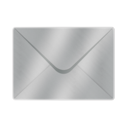 133x184 Metallic Silver Envelopes