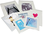 Gesso Mounted Prints