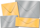 Metallic Finish Envelopes