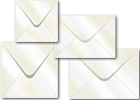 Oyster Pearlescent Envelopes