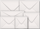 White Hammer Texture Envelopes