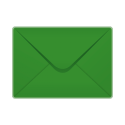 133x184mm Premium Range Christmas Green Envelopes