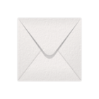 155x155mm White Hammer Texture Envelopes