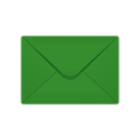 C6 Premium Range Christmas Green Envelopes
